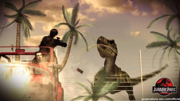 Jurassic Park Operations by willloudermill