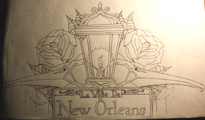 King of New Orleans Tattoo Design by WingsDurus