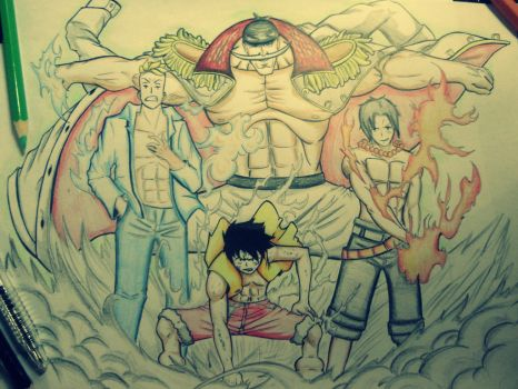 The One Piece elite! XD by meteorsky900