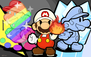 Power Up, Paper Mario by 1AndOnly4th
