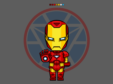 #2 Iron Man | Avengers Vector by rousanilmy