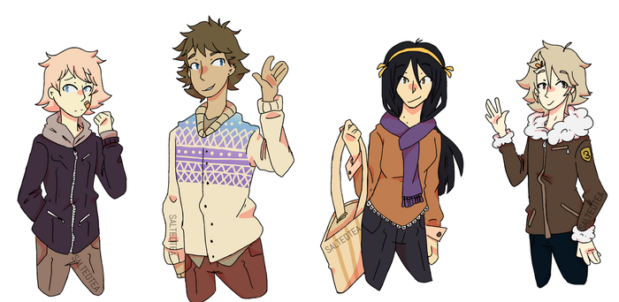 Winter Clothing One by SaltedTeaLeaves