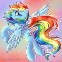 Rainbow Dash by ChaosAngelDesu