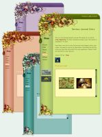 Free CSS: SPRING - 4 Colors by Lilyas
