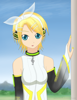 Kagamine Rin - Append by CeruleanShadow