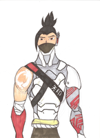 Hanzo Cyberninja Anniversary by Scared2dream