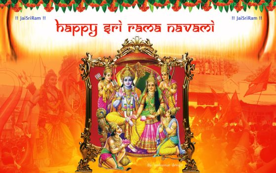 Happy Shri Rama Navami by mskumar