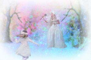 The Visit of the Snow Queen by artistic-touches