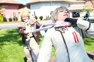 ColossalCon 2014 - Of Scarves and Glasses(PS) 69 by VideoGameStupid