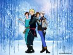 North, South, East, West- Frozen by ChibiMisa94