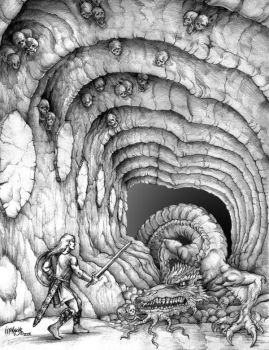 The Lair of the Wyrm by Culhain