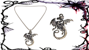 Dragon Necklace by ninjapirate10194