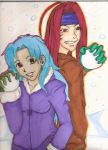 snowball fight of the century by miharuyume