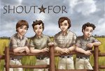 Shout*For - The Boys in a Field by ErinPtah