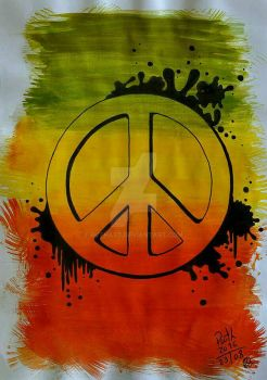 Peace  by ruthart
