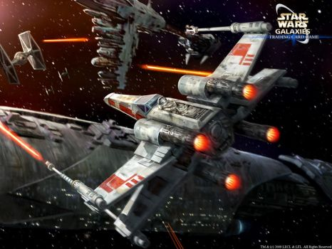 Incom T-65 X-Wing by wraithdt