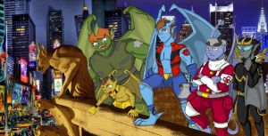 Gargoyle Transformers by QueenSolaris