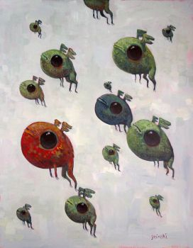 Migration of Frogs by jasinski