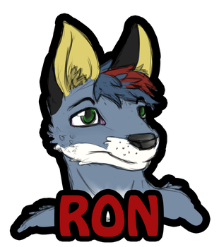 Free Bust - Ron The Fluffy Fox by Snow-Fangs