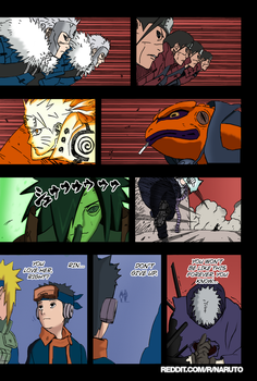 Naruto ch 637 , page 9 for the reddit colorkages . by StillbutterflyReddit
