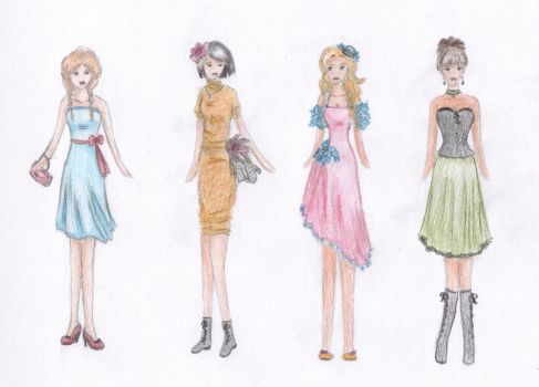 Ladies, get your dresses by AnInvalidName