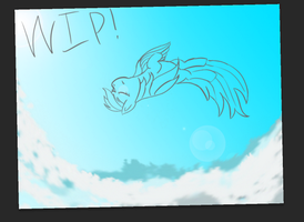 [WIP] We're eight miles high about to fall by Rainb0wDashie