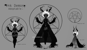 Ink Demon [closed] by missusruin