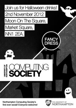 Computing Society Poster by ChubbaART