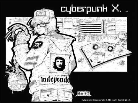 cyberpunk bw version 2.1 by greenninja333