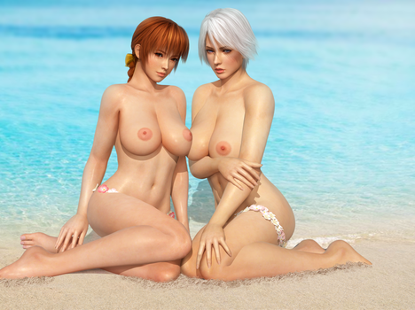 Kasumi Christie Topless by RadiantEld