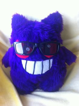 That cool Gengar though.... by PlushQueenDIY