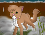 .:Take care of him Fireheart:. by SkittyStrawberries