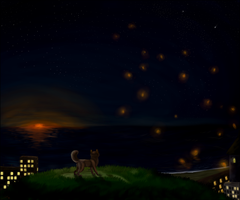.:magical sunset:. by Chickiee
