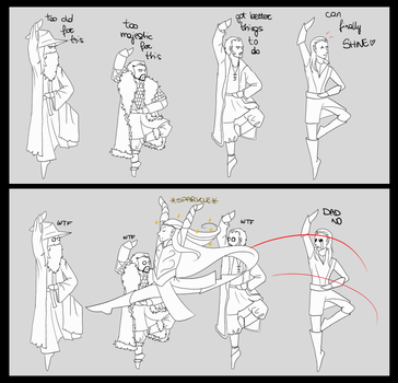 Ballet of the five armies by Eriin84