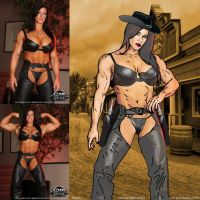 Wild Westworld Angela Salvagno by zenx007