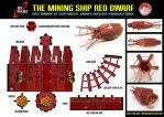 Red Dwarf - Model by mikedaws