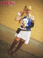 Lucy Heartfilia timeskip - Fairy Tail cosplay by onlycyn