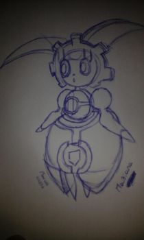 Magiana Speed Drawning By Marcos by Marcos1094