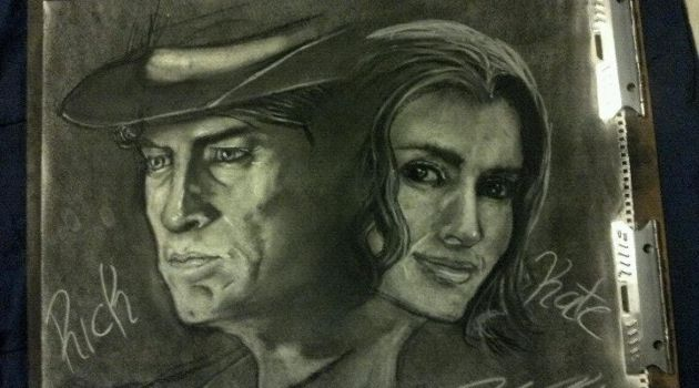 Castle And Beckett - Charcoal by TrustMeDear