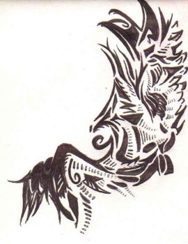 Wing Tattoo? 3 by LiZzLlE-Chuu