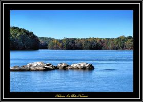 Autumn On Lake Norman HDR by TThealer56