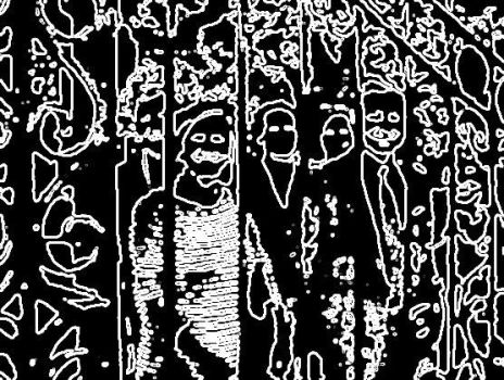 Faces in the Crowd by Sean-Matthew