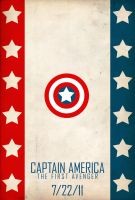 Captain America poster by SirToddingtonIII