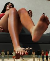Public Execution ( Giantess Style) by suneeeel