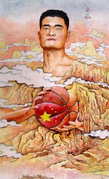 Yao Ming by q99823
