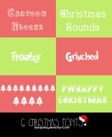 Christmas Fonts by ISatQuietly