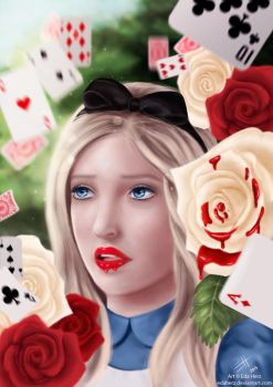 Alice In Wonderland by EdaHerz