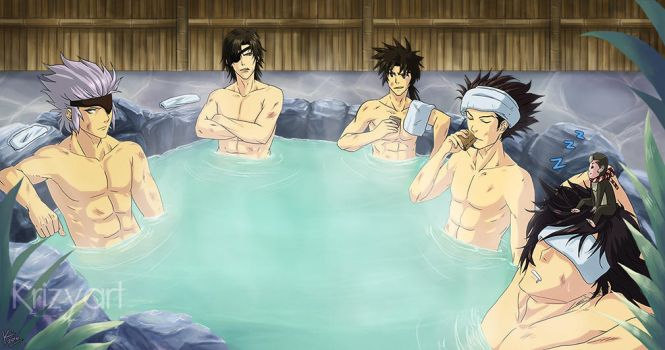 At the Onsen by Krizy