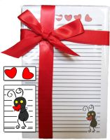 Thief Heartless Stationary Set by OurDestinyDesigns
