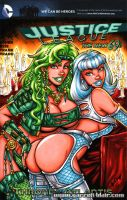 Fire + Ice New69 sketch cover by gb2k